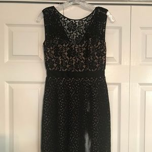 BCBG Black Lace Cocktail Dress - Size 0